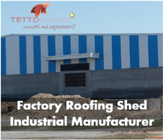Industrial Shed Roofing Sheet | Industrial Shed Manufacturer...