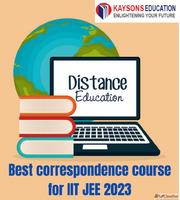 Best correspondence course for IIT JEE 2023