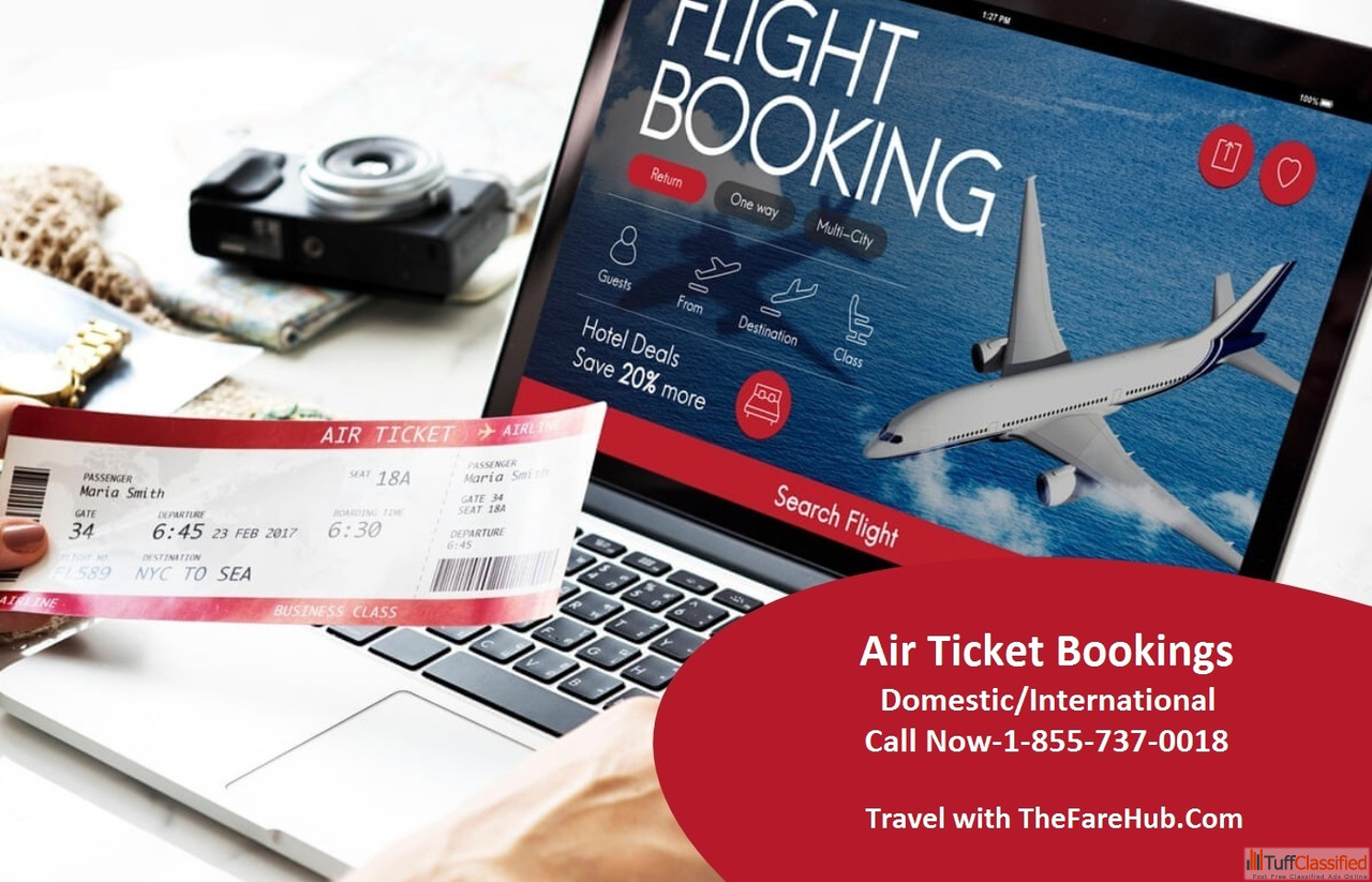 Enjoy Cheap Air Ticket Fares at Thefarehub 855-737-0018 Airline Tickets In  New Delhi
