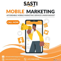 Mobile Marketing Service at low cost | Sastiwebsite