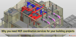 MEP BIM Coordination Outsourcing - CHCADD Outsourcing