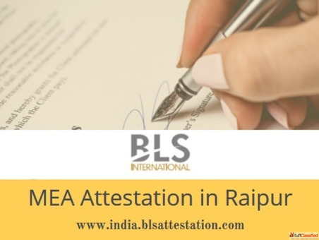 MEA Attestation in Raipur.