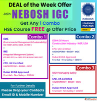 Green World Group's new exiting deals on NEBOSH IGC Courses
