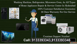 Whirlpool washing machine service center in Hyderabad