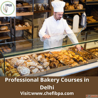 Professional Bakery Courses in Delhi