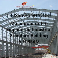 OM Shri Ganesh Steel - PEB Industrial Shed Manufacturer in N...