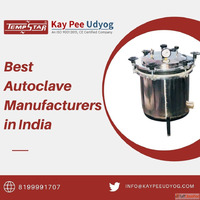 Best Autoclave Manufacturers in India- Kaypee Udyog