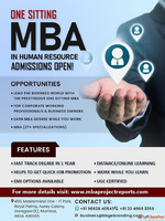 One Sitting-Online-Distance MBA in HR Management