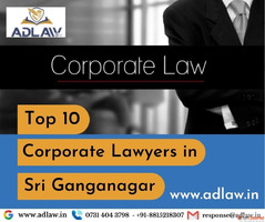 Top 10 Corporate Lawyers in Sri Ganganagar