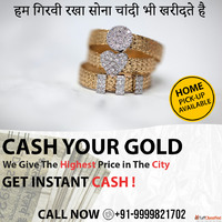 Gold Jewelry Buyers In Delhi | Sell Gold For Cash Near Me