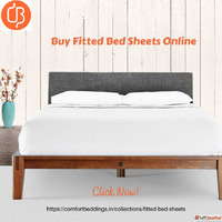 Buy King, Queen, Single, Double Fitted Bed Sheets Online