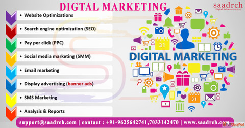 Best Digital Marketing Company in Patna - Saadrch Digital Software