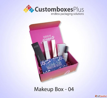 We Print Custom Makeup Boxes for Your Amazing Products