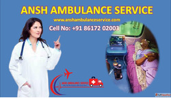 Go with Emergency Train Ambulance Service in Patna | ANSH Am...