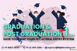 Graduation & Post Graduation in One Year - Save Your Gap...