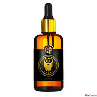 Private Label Organic Mens Beard Growth Oil 100% Natural Bea...