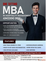 MBA in Hospitality Management in One Sitting