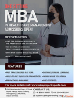 MBA in Healthcare Management in One Sitting