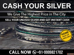 Cash For Silver In Noida | Sell Silver In Delhi NCR