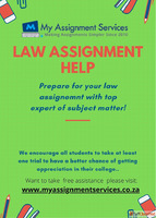 Get law assignment help service to meet the expectation of y...