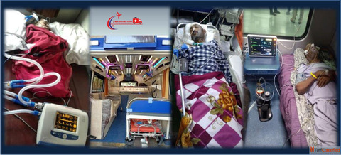 Get all series of EMT Service in Train Ambulance Service from Patna | ANSH