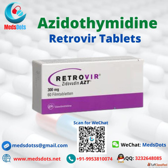 Buy Indian Zidovudine Tablets | Retrovir generic Price Online | HIV drugs exporter Online