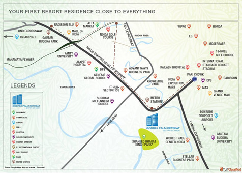 Godrej Palm Retreat 2 Sector 150, Noida | Your Home In Your Forest