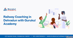 Railway Coaching in Dehradun with Gurukul Academy