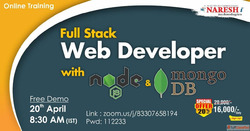 Full Stack web development online training - Naresh IT