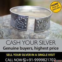 The Trusted Second Hand Silver Buyer In Delhi| Sell Silver N...