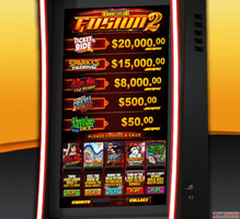 Video game Slot machine for bars