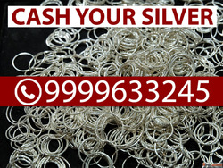Instant Cash For Silver In Noida| Silver Buyer Near Me