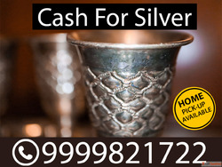 Sell Silver For Cash In Noida| Sell Silver Near Me