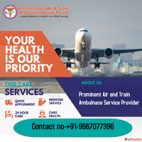 Find the Peerless Commercial Air Ambulance Service in Ranchi...