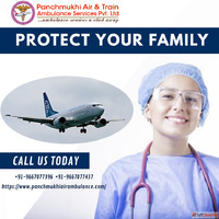 Use the Safest Air Ambulance Service in Raipur with Professi...