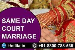 Same day court marriage - Lead India Law Associates
