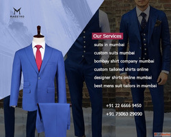 Best Suit Shops, Best Custom Made Suits in Mumbai - Maestro ...