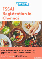 FSSAI Registration in Chennai | Online registration in 1 day...