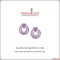 Online Jewelry Shopping Store India | Buy Silver Earrings On...