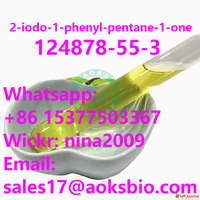 Whatsapp: +86 15377503367 Good Quality 2-iodo-1-phenyl-penta...