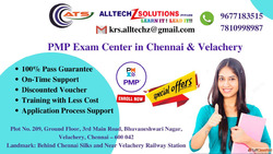 PMP Certification in Chennai and Velachery