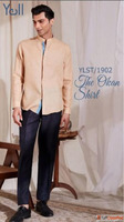 Order Linen Shirts for Men: Best Price Online in India - Yel...