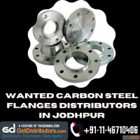 Wanted Carbon Steel Flanges Distributors In Jodhpur
