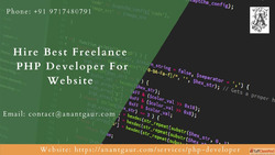 Hire Best Freelance PHP Developer For Website: Anant Gaur