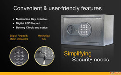 Protection simplified with Crux Digital safes for homes with...