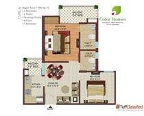Pay30%Now 70%onPossesion Color Homes Nh24 @9810995187 Ghaziabad