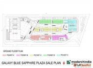 Galaxy Blue Sapphire Plaza 9810993851 Best Commercial in Noi...